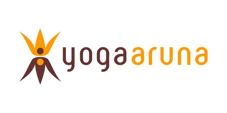 Logo for Yoga Aruna, www.yoga-aruna.nl