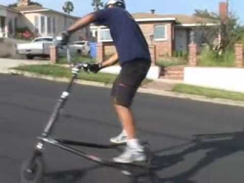 how to ride a trikke