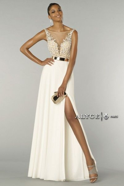 This gorgeous new arrival is perfect for #seniorprom! ALYCE Paris prom dress style #6441