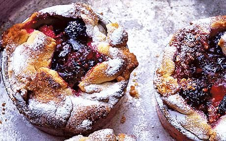 Little fig and blackberry pies recipe - Nigel Slater