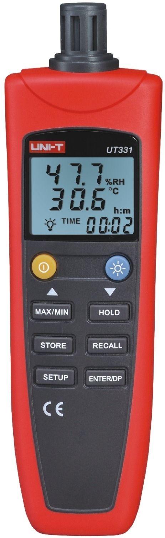 60.00$  Watch here - http://alijc1.worldwells.pw/go.php?t=32607093605 - Uni-t UT331 Digital termo higrometro termometro temperatura umidade medidor de umidade Tester w / LCD Backlight & USB 60.00$