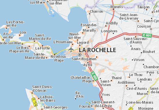 Carte-Plan La Rochelle