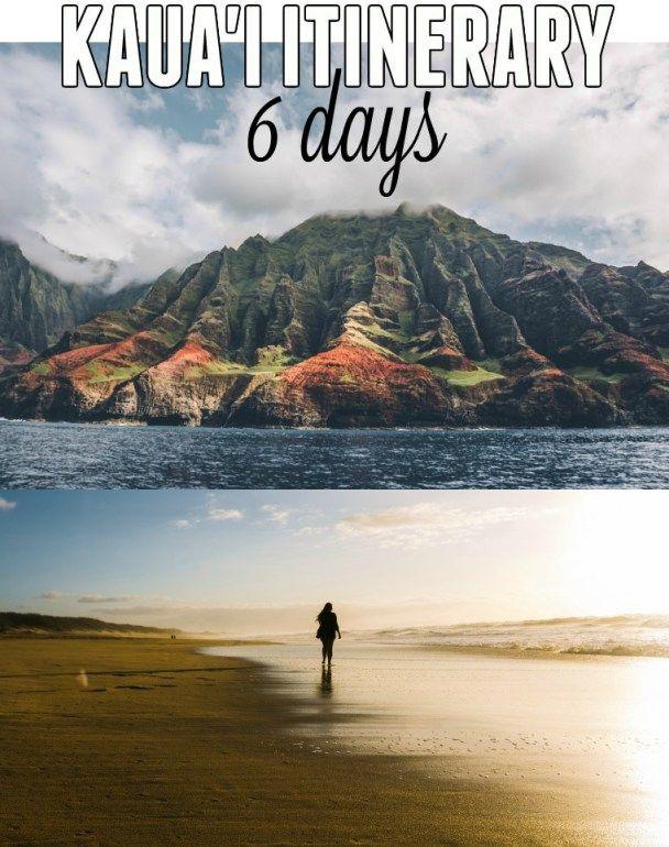 6 Day Kauai Itinerary