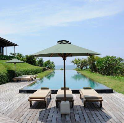 visites privées : La piscine à débordement de ma Villa Bulung Daya à Bali, Selemadeg, Thibault M.