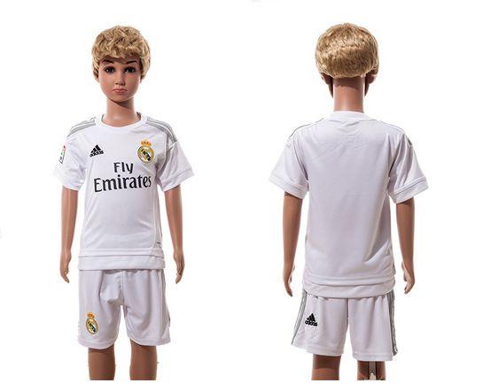 Camiseta De Ninos Del Real Madrid Real Madrid home 2015-2016