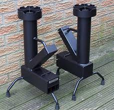 Mini rocket stove google herreria pinterest for Portable rocket stove heater