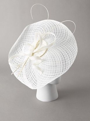 70% OFF Giovannio Women's Platter Fascinator Headband, White