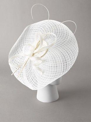 70% OFF Giovannio Women's Platter Fascinator Headband, White