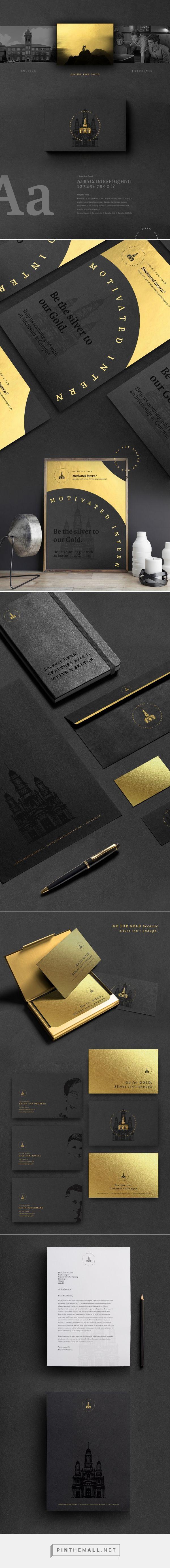 Campus Branding by Frank Van Deursen  | Fivestar Branding Agency – Design and Branding Agency & Curated Inspiration Gallery