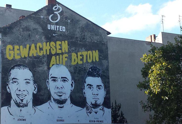 Jérome, George und Kevin-Prince: Die drei Boateng-Brüder in der Badstraße Ecke Pankstraße in Wedding.