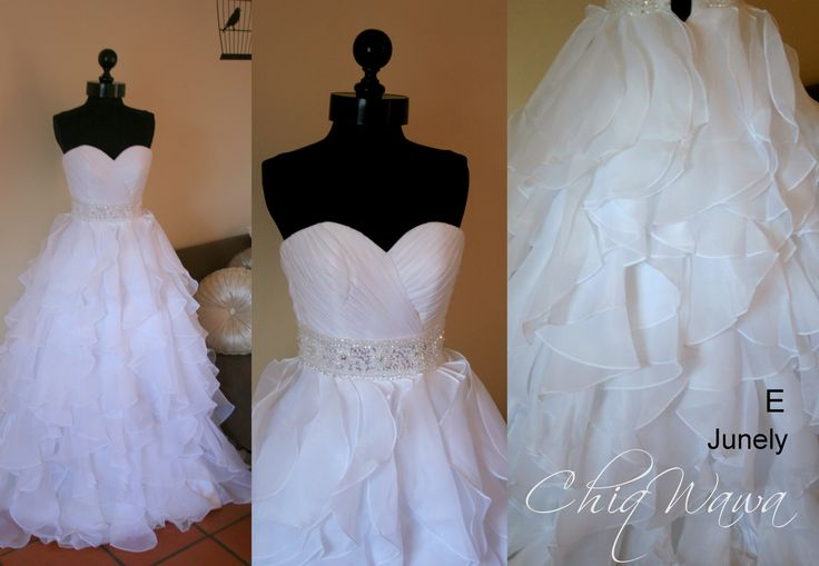 Wedding Dresses | Chiqwawa South Africa Wedding Gown, Junely <3 info@chiqwawa.co.za