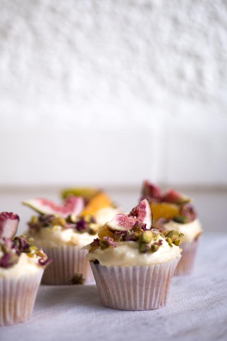 Persian Orange Cupcakes // BFP