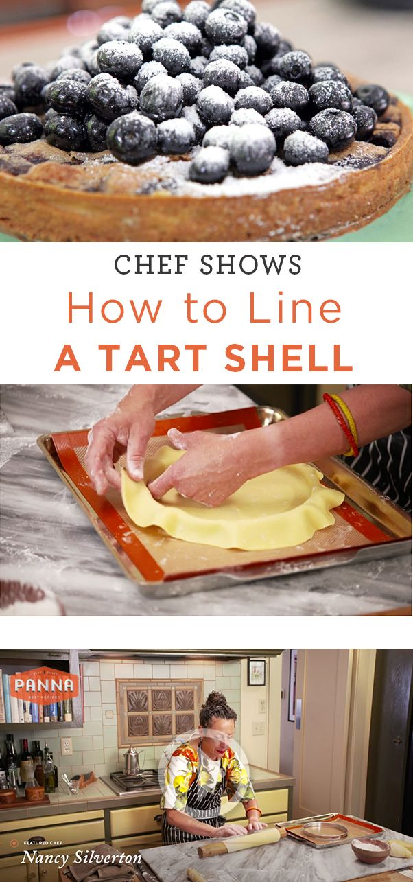 ... . Nancy Silverton demonstrates a few tips to master filling a tart