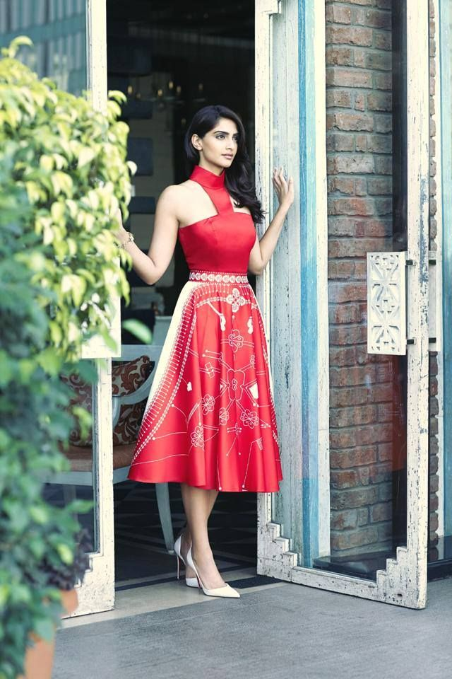 Gorgeous #RedDress donned by #SonamKapoor. Happy Birthday to her.. by Shaadi-e-Khas. http://www.shaadiekhas.com/