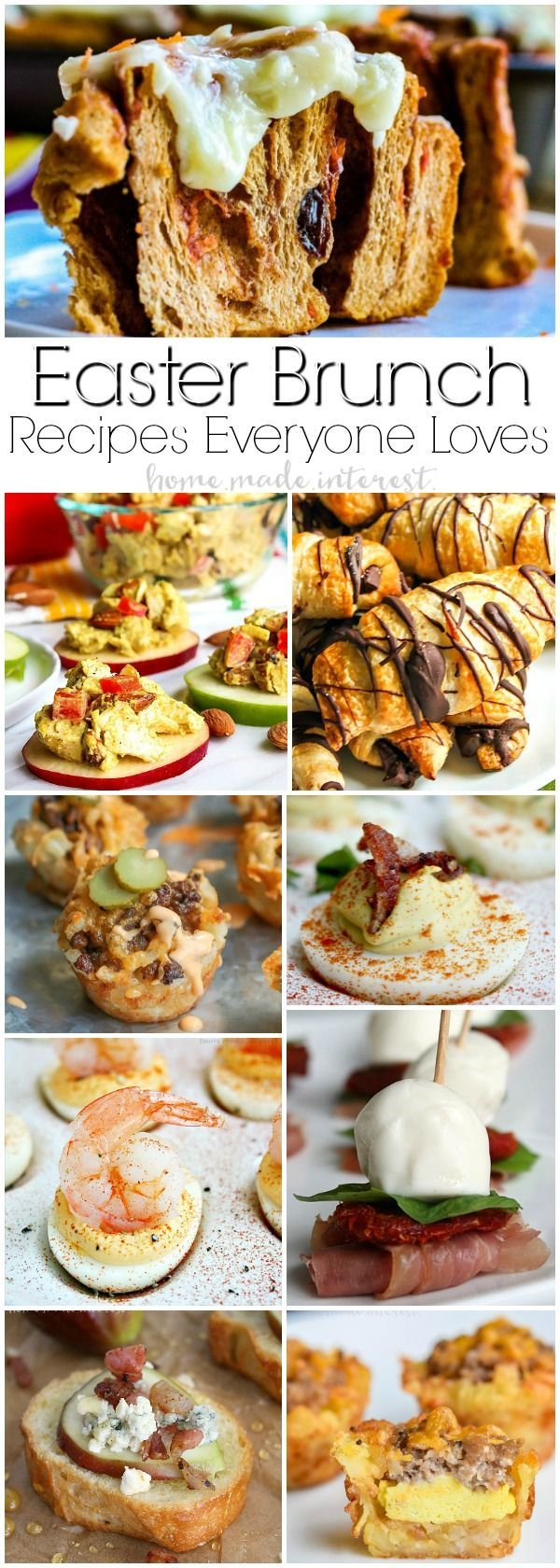 Best Brunch Recipes to Impress Your guests | We've got some of the BEST brunch recipes! From make ahead breakfast casseroles to cinnamon rolls, these brunch recipes will make it easy to feed your guests without spending your whole day in the kitchen. These are some of the best brunch recipes for Easter brunch, Mother's Day brunch or just a weekend brunch with family.