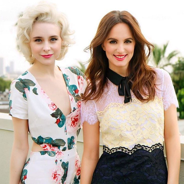 Caitlyn Chase and Alessandra Torresani.