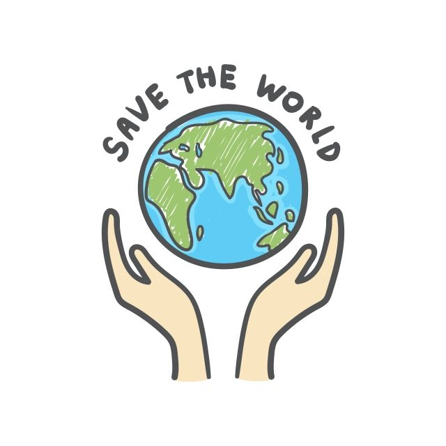 Save The World Globe And Hands Doodle Earth Icon Hand Drawn On White Background World Clipart Recycle Save Png And Vector With Transparent Background For Fre Hand Doodles Globe Drawing Earth