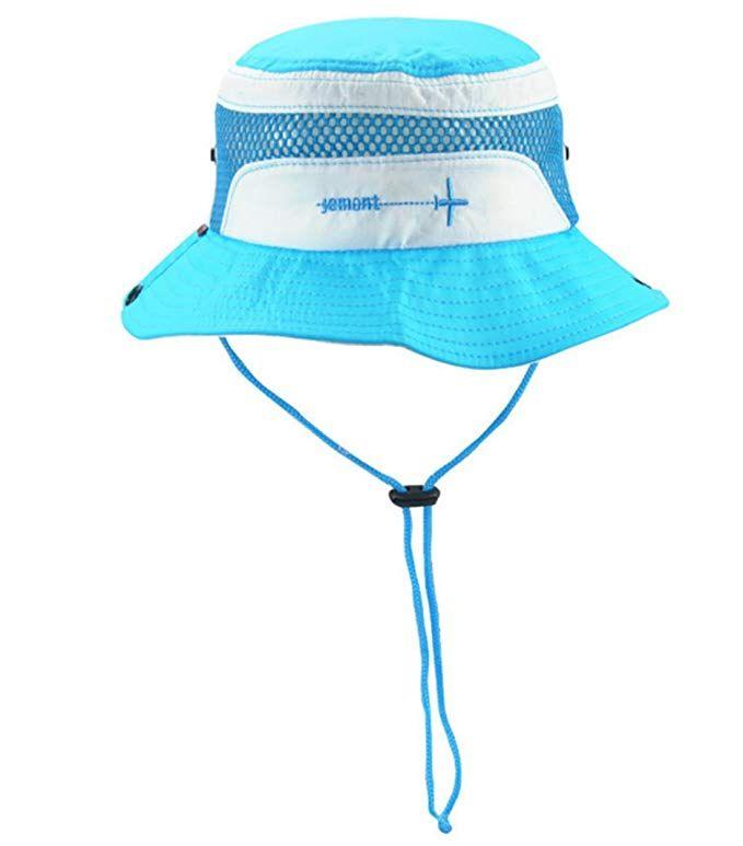 f5dbcddddbaec Abbyling68 Boy s Girl s Sun Hat with Chin Strap