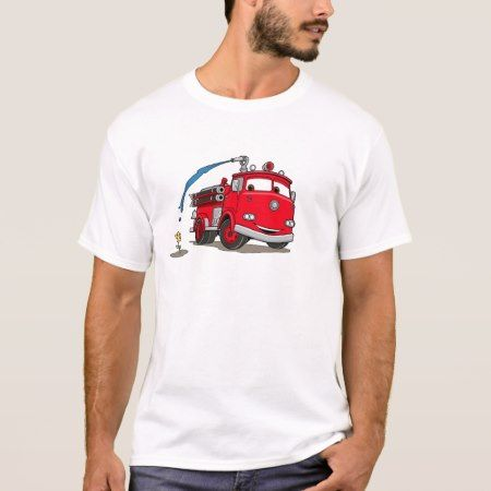 Cars' Red Disney T-Shirt - click/tap to personalize and buy