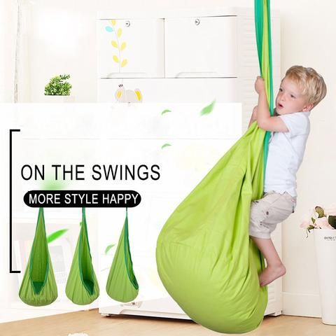 Hot selling portable outdoor cradle chair comfortable Bags Swing Children Hammocks Swing Chairs