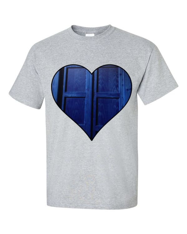 Who love Who the most. So your love for the Doctors Tardis with this custom Tee. Chack it out today.