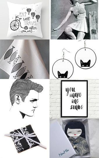 Black and white by baltabalta on Etsy--Pinned with TreasuryPin.com