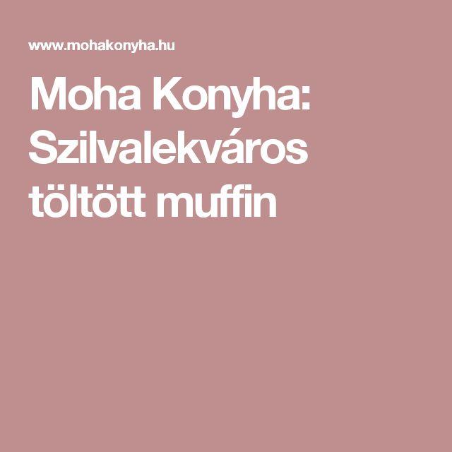 Moha Konyha: Szilvalekváros töltött muffin