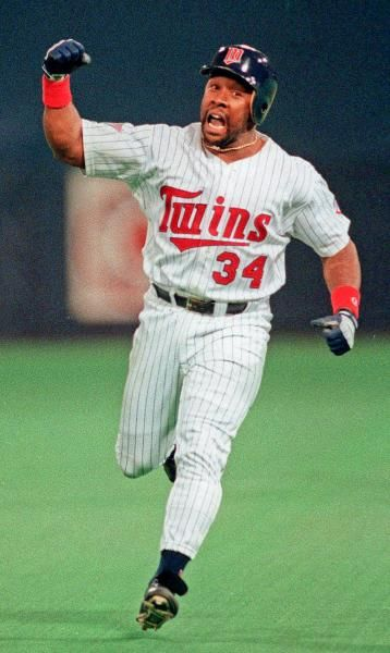 Minnesota Twins' Kirby Puckett