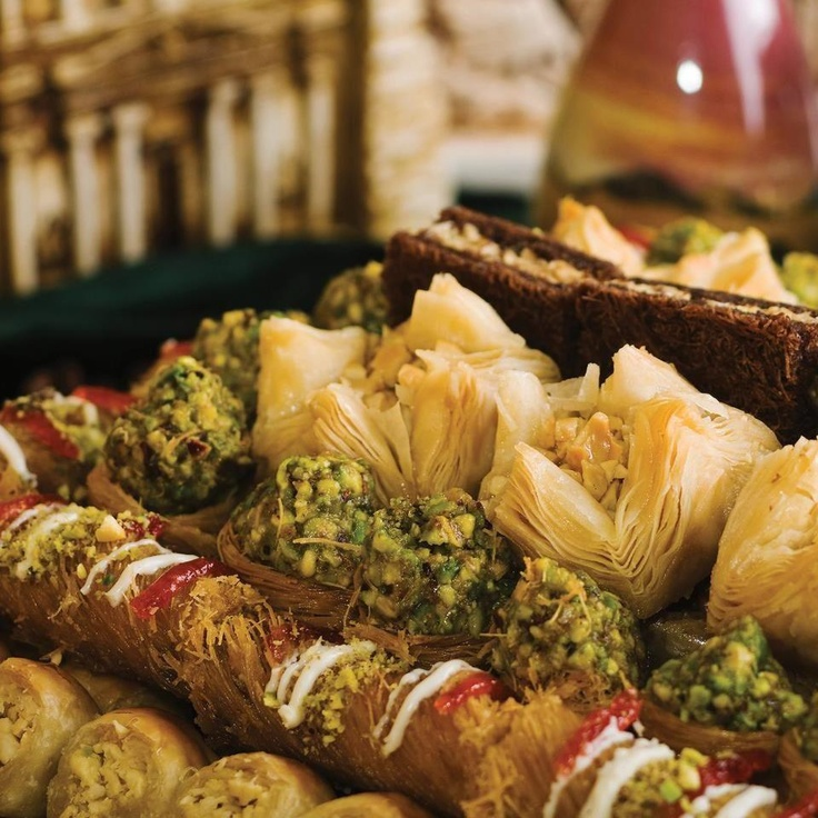 Baklawa / Lebanese sweets