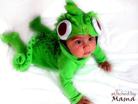 Rapunzel Chameleon Pascal Inspired Baby Costume Etsy