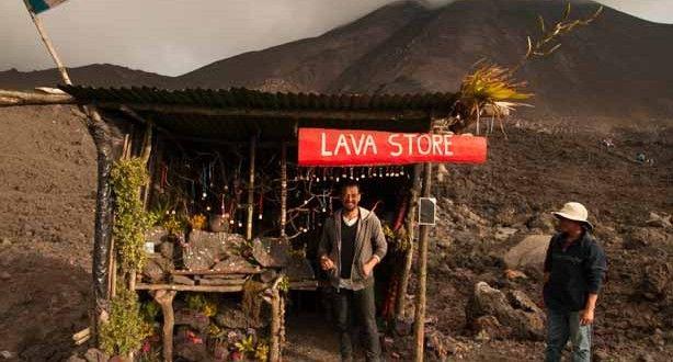 Guía Turística - Lava Store - Una tienda a 2, 522 msnm ubicada en el volcán de Pacaya   Solo lo mejor de Guatemala