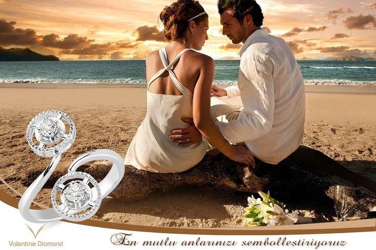 En mutlu anlarınızı sembolleştiriyoruz #love #happy #ring #yuzuk #diamond #pirlanta #marry #wedding #fiance #weddingring #jewelry #kolye #necklace #bracelet # #istanbul #amazing #girl #women #style #design #engagement #white #luxury