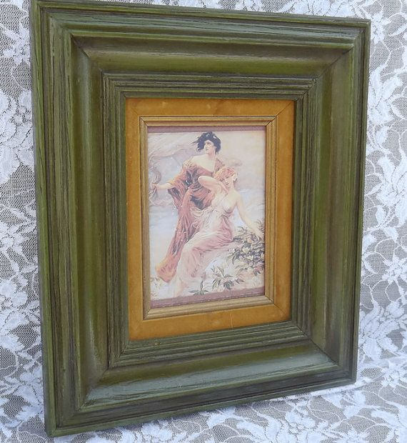HD 31 Framed Victorian Wall Decor Art Print by LetaPearlEmporium