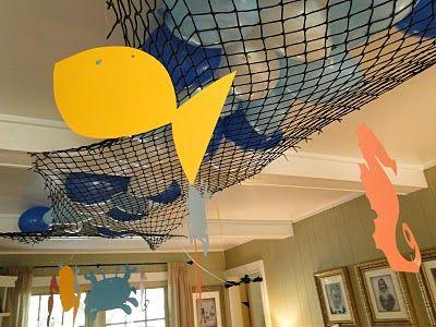 Under the sea party decoration idea