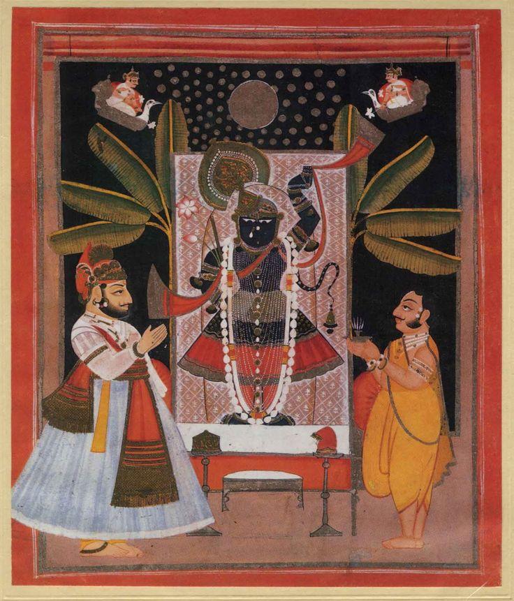 Kala Ksetram Worship of Krishna as Sri Nataji, Nathdwara, Rajasthan