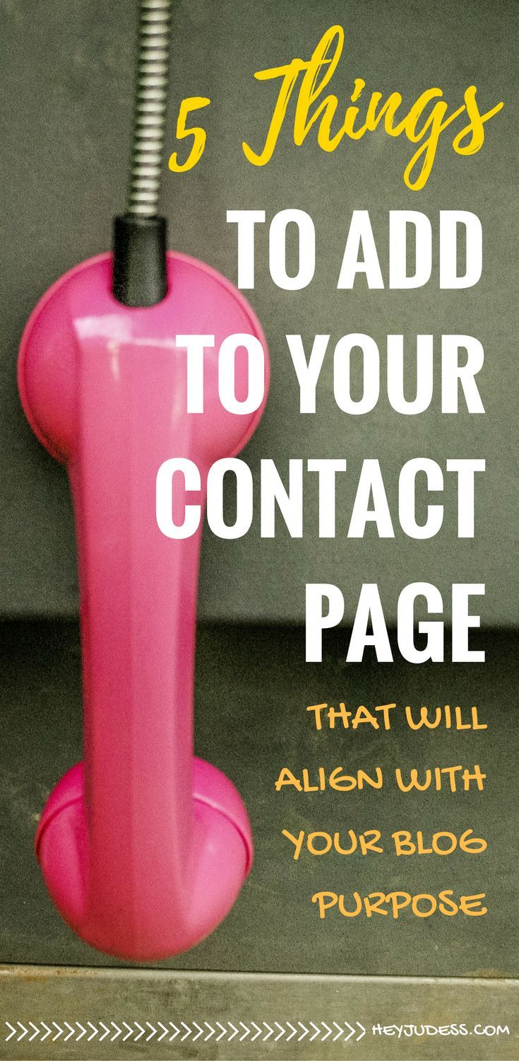 Starting a blog and looking for tips and inspiration on how to layout your contact page? Check out examples of how other bloggers craft their contact page...