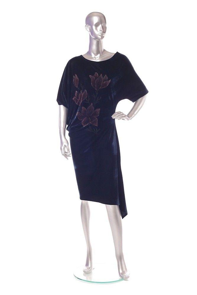 Velvet dress Order by phone : +4 0727 781 988