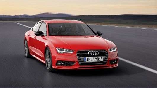 Audi's A7 Sportback 3.0 TDI competition is a more powerful version of the standard A7 3.0 TDI, with special styling cues to celebrate 25 years of Audi's TDI technology.