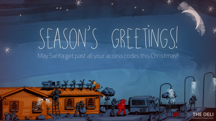 Deli Christmas message 2014
