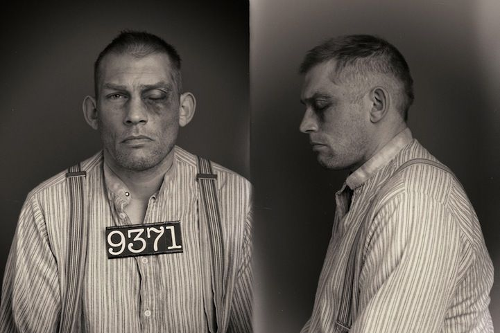 Creative mugshots portray style of 1920s criminals mug