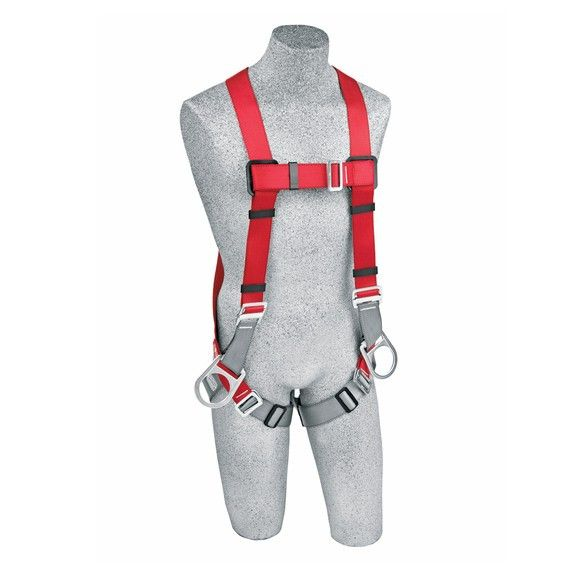 Protecta Pro 1191205 Full Body Fall Protection Harness - 3 D-Rings