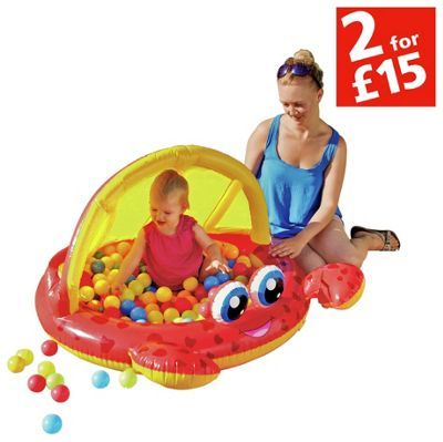 Buy Chad Valley Frog Baby Pool and Ball Pit at Argos.co.uk, visit Argos.co.uk to shop online for 2 for 15 pounds on Toys, Pre-school large play equipment, Pools and paddling pools