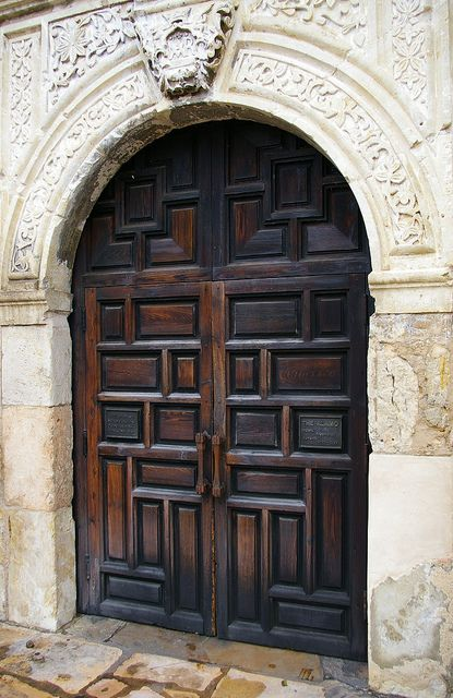 The Alamo - another door I've been through.