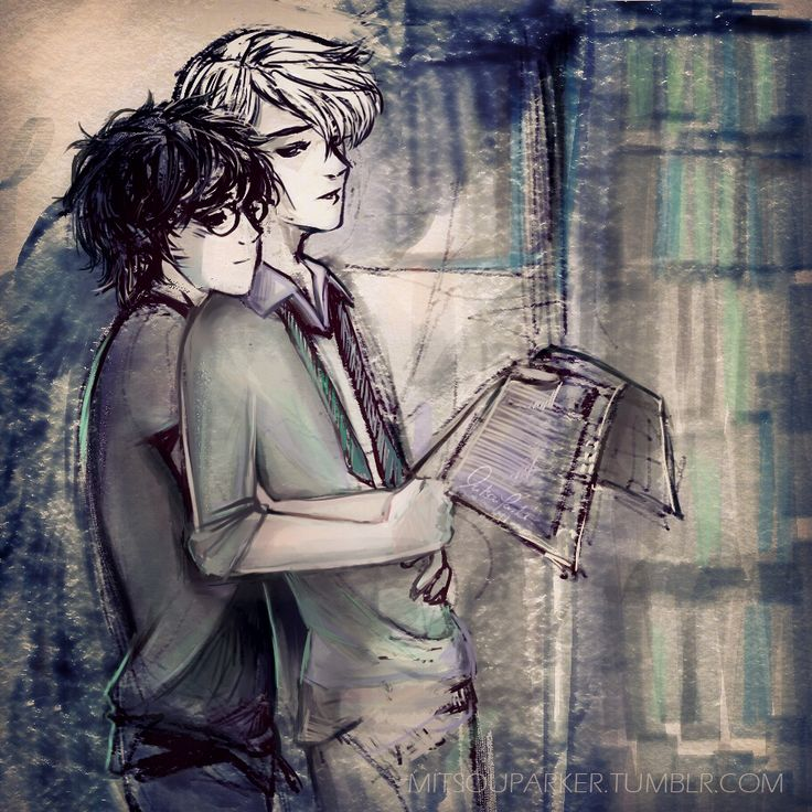 mitsouparker: Some Drarry sketch…