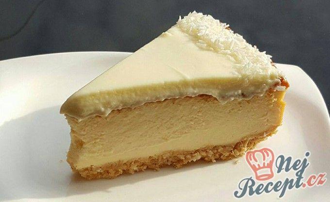 Exotický cheesecake s kokosem a ananasem   NejRecept.cz