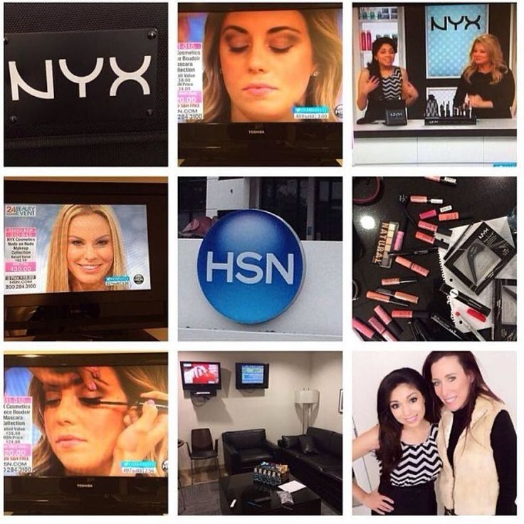 Throwback to working at @hsn for @nyxcosmetics. What an incredible place to work. I was alongside  @charismastar and even met  @bretmichaelsofficial who was promoting his fragrance. I would love to go back. #makeup #makeupbyme #makeupartist #mua #cosmetics #nyxcosmetics #hsn #beauty #beautyreport #glam #onlocation #tampa #onset #potd #motd #tbt #florida #jillstonierprofessionalmua by jillstonier_mua