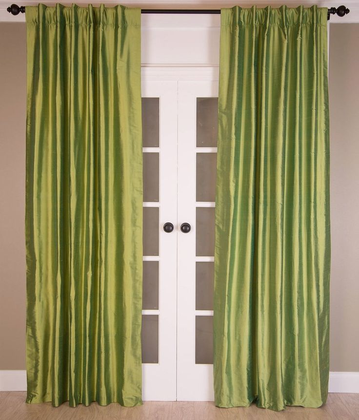 #5P30 Kiwi SILK Curtain (Use Discount Code)