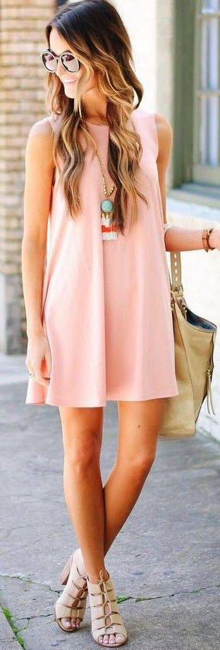 Little Blush Swing Dress                                                                             Source