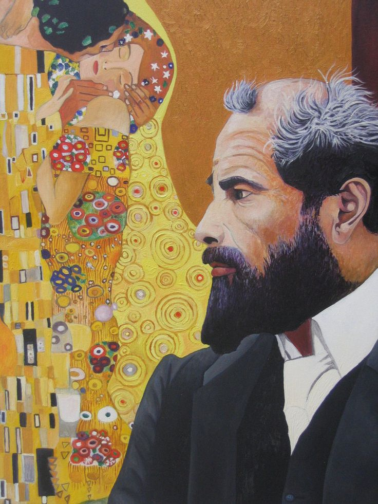 Gustav klimt self portrait