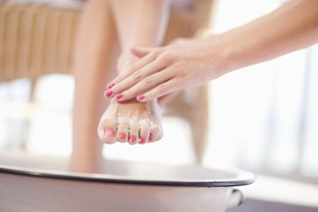 Advice for quick, easy and effective at-home treatments for pretty feet